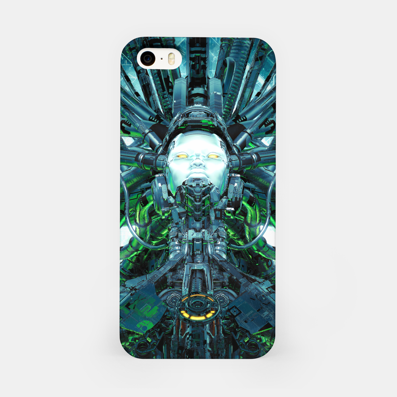 Image of Artificial Angel iPhone Case - Live Heroes