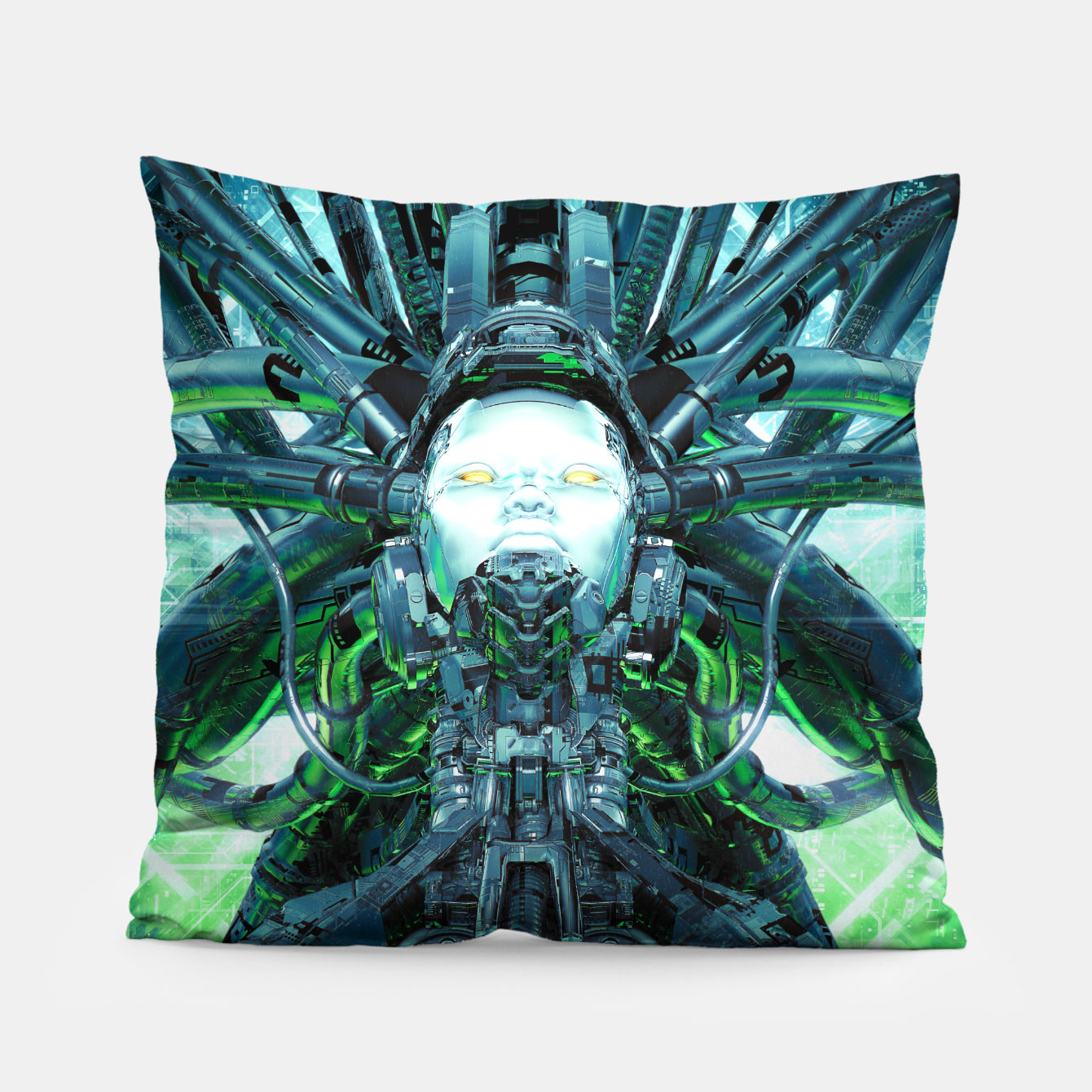 Image of Artificial Angel Pillow - Live Heroes