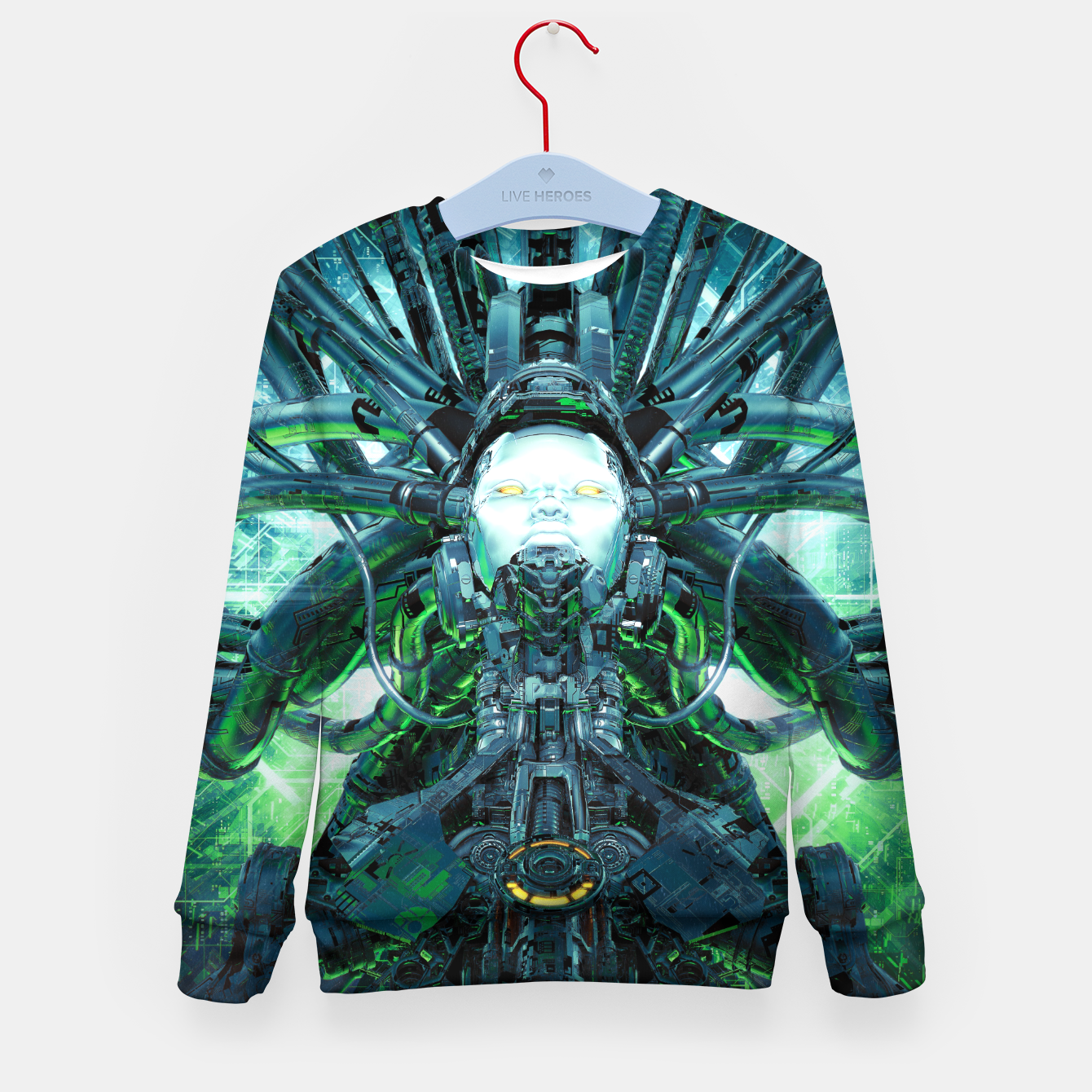 Image of Artificial Angel Kid's sweater - Live Heroes