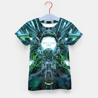 Thumbnail image of Artificial Angel Kid's t-shirt, Live Heroes