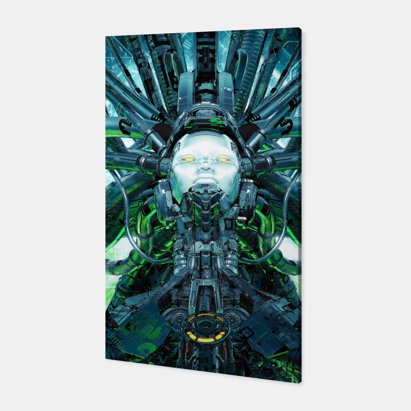 Image of Artificial Angel Canvas - Live Heroes