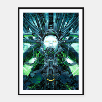 Miniatur Artificial Angel Framed poster, Live Heroes