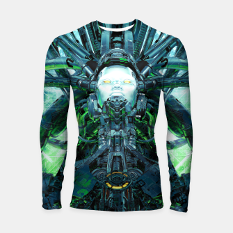 Thumbnail image of Artificial Angel Longsleeve rashguard , Live Heroes