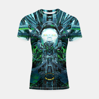 Thumbnail image of Artificial Angel Shortsleeve rashguard, Live Heroes