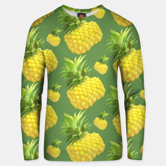 Thumbnail image of Pineapple Pattern Design Unisex sweater, Live Heroes