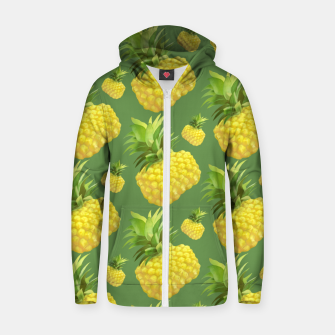 Miniaturka Pineapple Pattern Design Zip up hoodie, Live Heroes