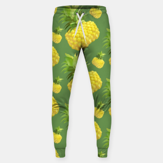 Thumbnail image of Pineapple Pattern Design Sweatpants, Live Heroes