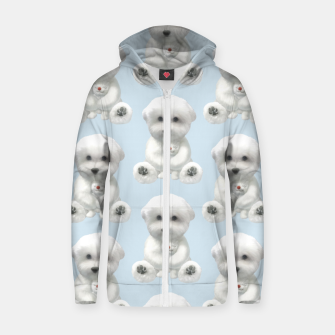Thumbnail image of Cuddle Time Zip up hoodie, Live Heroes