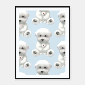 Thumbnail image of Cuddle Time Framed poster, Live Heroes