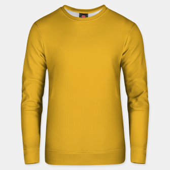Thumbnail image of color goldenrod Unisex sweater, Live Heroes