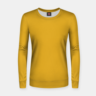 Miniatur color goldenrod Women sweater, Live Heroes