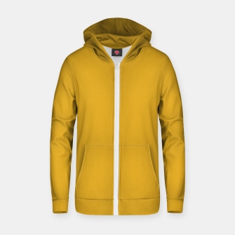Thumbnail image of color goldenrod Zip up hoodie, Live Heroes
