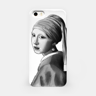 Thumbnail image of Girl with a pearl earring Obudowa iPhone, Live Heroes