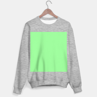 Miniaturka color pale green Sweater regular, Live Heroes