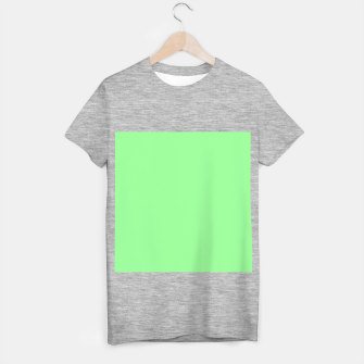 Thumbnail image of color pale green T-shirt regular, Live Heroes