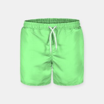 Thumbnail image of color pale green Swim Shorts, Live Heroes