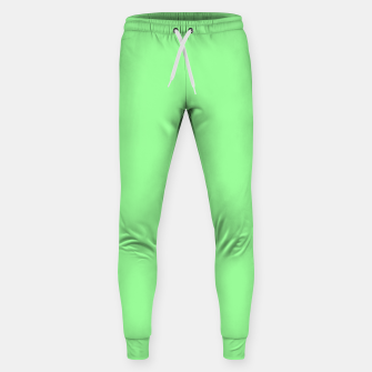 Thumbnail image of color pale green Sweatpants, Live Heroes