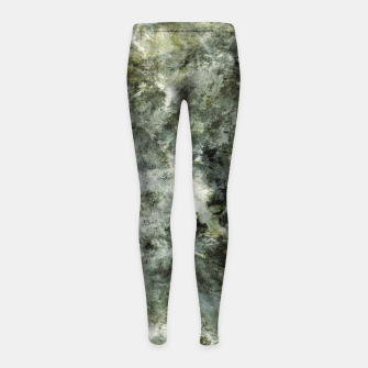 Thumbnail image of Hidden wolves Girl's leggings, Live Heroes