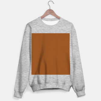 Thumbnail image of color saddle brown Sweater regular, Live Heroes