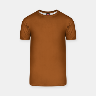 Thumbnail image of color saddle brown T-shirt, Live Heroes