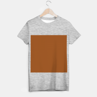 Thumbnail image of color saddle brown T-shirt regular, Live Heroes