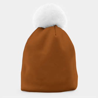 Miniature de image de color saddle brown Beanie, Live Heroes