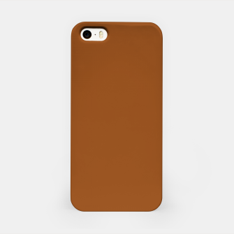 Thumbnail image of color saddle brown iPhone Case, Live Heroes