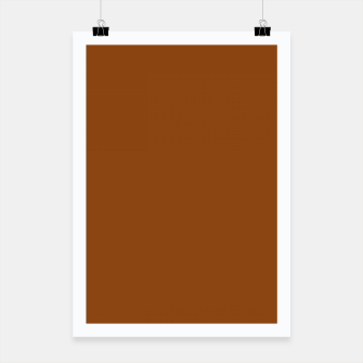 Thumbnail image of color saddle brown Poster, Live Heroes