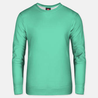 Thumbnail image of color medium aquamarine Unisex sweater, Live Heroes