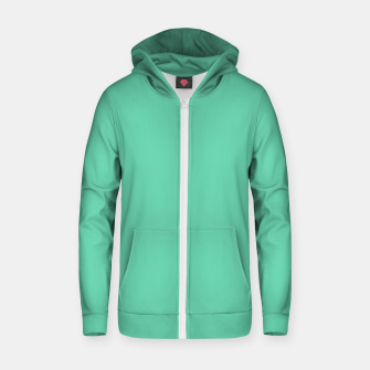 Miniaturka color medium aquamarine Zip up hoodie, Live Heroes