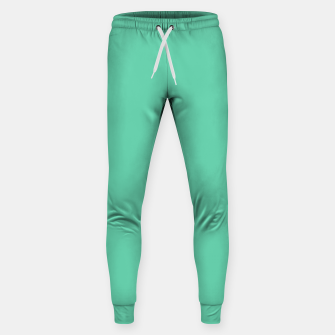 Thumbnail image of color medium aquamarine Sweatpants, Live Heroes