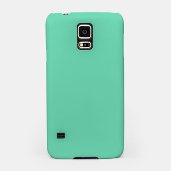 Miniaturka color medium aquamarine Samsung Case, Live Heroes