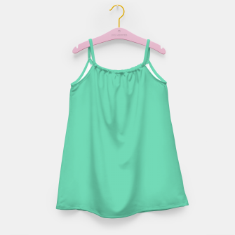Thumbnail image of color medium aquamarine Girl's dress, Live Heroes