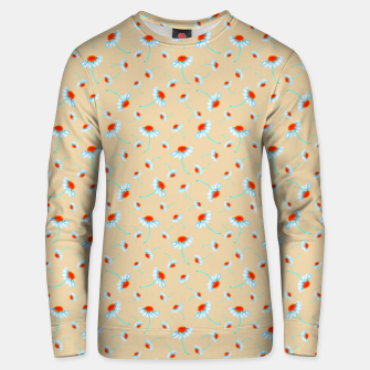 Thumbnail image of Chamomile Blooms Unisex sweater, Live Heroes