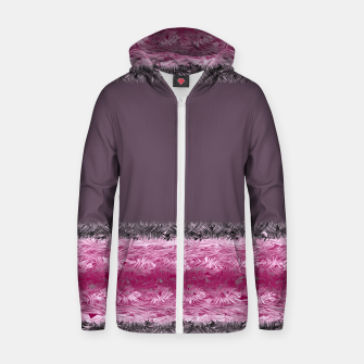 Thumbnail image of Pink fluff Zip up hoodie, Live Heroes