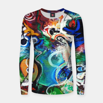 Miniatur Abstract art no 2 Women sweater, Live Heroes