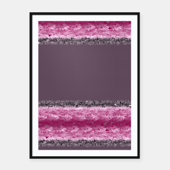 Thumbnail image of Pink fluff Framed poster, Live Heroes
