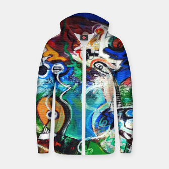 Thumbnail image of Abstract art no 2 Zip up hoodie, Live Heroes