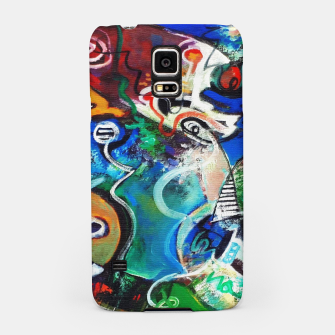 Miniaturka Abstract art no 2 Samsung Case, Live Heroes