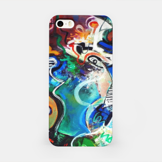 Thumbnail image of Abstract art no 2 iPhone Case, Live Heroes