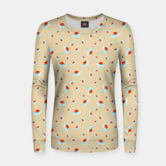 Thumbnail image of Chamomile Blooms Women sweater, Live Heroes