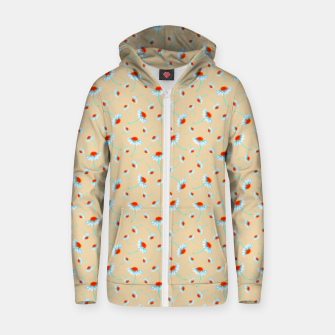 Thumbnail image of Chamomile Blooms Zip up hoodie, Live Heroes