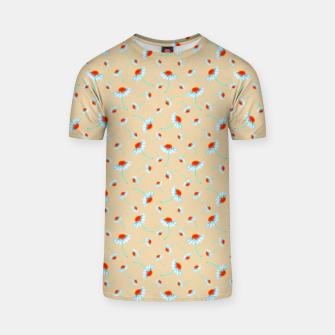 Thumbnail image of Chamomile Blooms T-shirt, Live Heroes