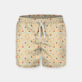 Thumbnail image of Chamomile Blooms Swim Shorts, Live Heroes