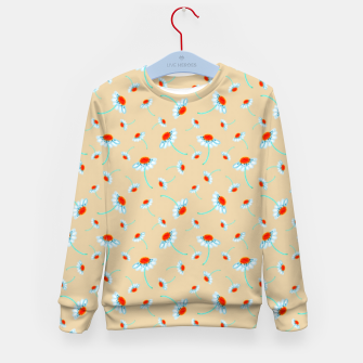 Thumbnail image of Chamomile Blooms Kid's sweater, Live Heroes