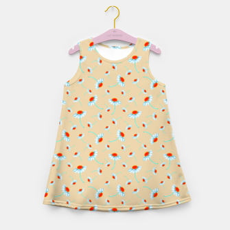 Thumbnail image of Chamomile Blooms Girl's summer dress, Live Heroes