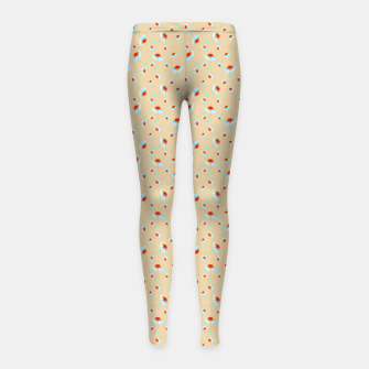 Thumbnail image of Chamomile Blooms Girl's leggings, Live Heroes