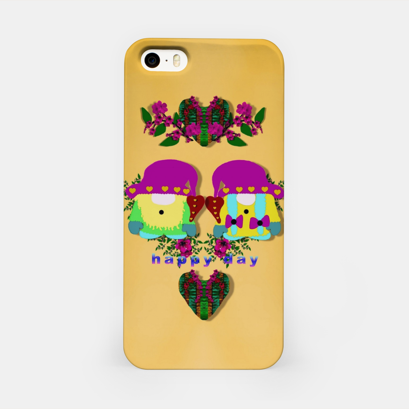Foto the gnomes as pop stars at love land iPhone Case - Live Heroes