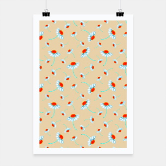 Thumbnail image of Chamomile Blooms Poster, Live Heroes
