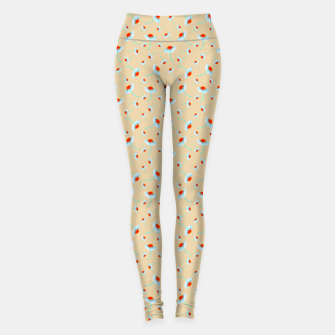 Thumbnail image of Chamomile Blooms Leggings, Live Heroes